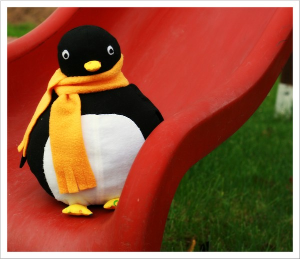 Mit Nadel Und Faden Pelli Pinguin Ganz Klassisch