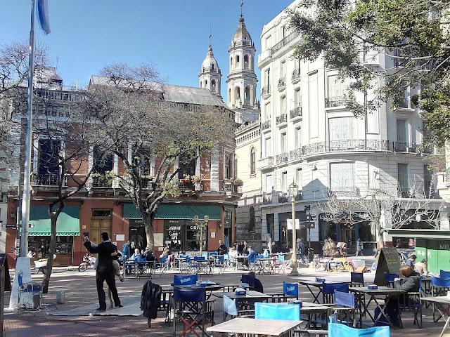 Plaza Dorrego, San Telmo, Buenos Aires