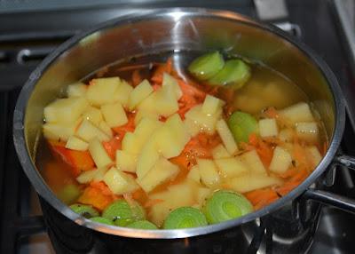 zupa krem z dyni pieczonej