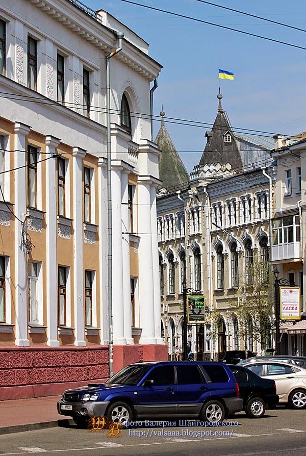 черниговские улицы