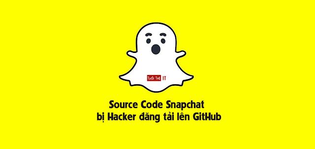 Mã nguồn Snapchat bị Hacker đăng tải lên GitHub