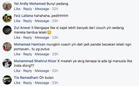 Benarkah Nur Sajat Putus Cinta Dengan Coach Yin?