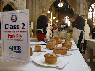 The Pork Pie Class at the British Pie Awards 2018