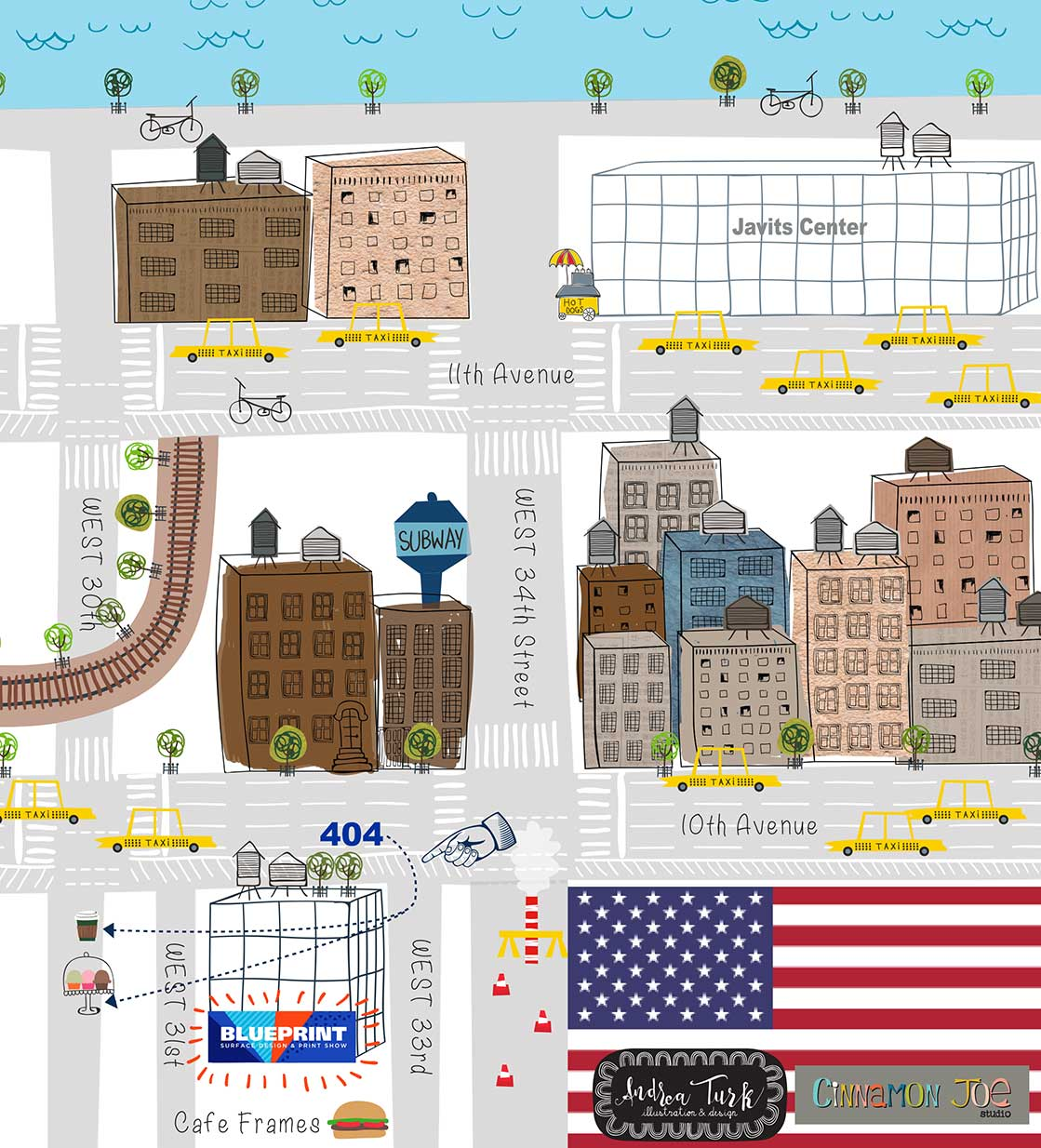 Blueprint show blue print map for new york hipsters blue print map for new york hipsters malvernweather Gallery