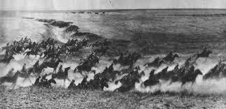 última carga de caballería