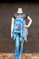 diy camiseta Anthropologie, Revival, Desigual
