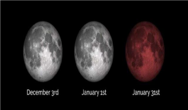 Istimewanya Gerhana Bulan Total 31 Januari 2018