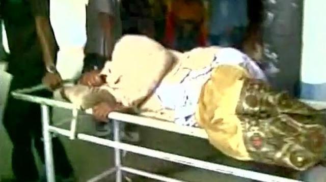 पुलिस की गोली से टूटकर गिरा बिजली का तार, 11 लोगों की मौत हुई