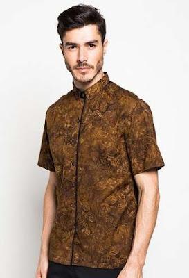 Baju Batik Untuk Remaja Pria Slim fit
