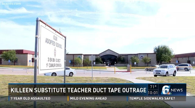 Substitute teacher duct tapes students' mouths at Texas elementary school Onlinelatesttrends