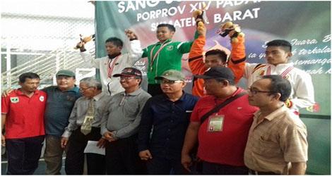 Prima Guna Darma Sembahkan 1 Medali Emas untuk Kabupaten Solok