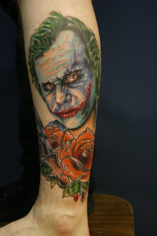 Style Tattoo: Body Art And Tattoos: 10 Unique Joker Tattoo Design Ideas