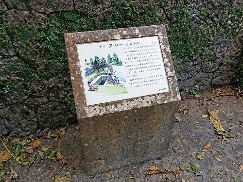 イーヌカーの説明板の写真