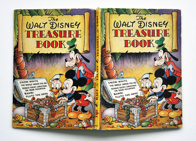 The Walt Disney Treasure Book published by Odhams Press