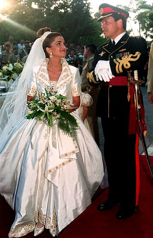 The Royal Order Of Sartorial Splendor Wedding Wednesday Ranias Gown