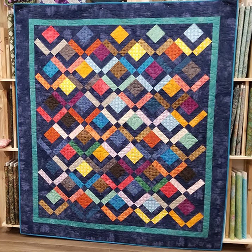 Three Layer Cake Quilt Free Tutorial