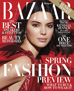Harper's Bazaar convida Cara Delevingne para entrevistar Kendall