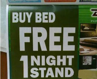 bedroom sales sign fail
