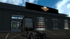 Garage Logo Board - Harley Davidson