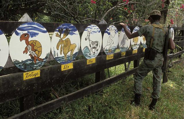 Fotografías de la Hacienda de Pablo Escobar a principios de los 90