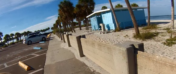Fred H. Howard Park Beach, Tarpon Springs, Florida USA