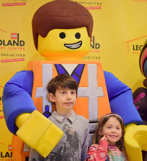 Dress up as your favourite character for LEGO movie night