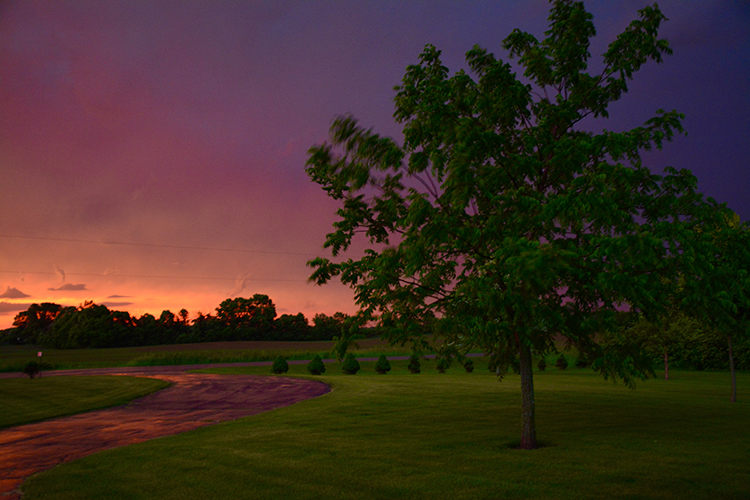 Sunset; Northeast Wisconsin | My Darling Days Blog