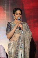 Sri Devi in designer saree stunning beauty at the launch of MOM movie Trailer~  Exclusive 007.JPG