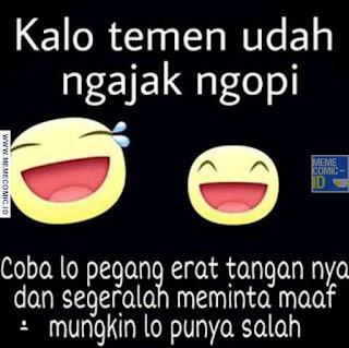 Meme Comic Indonesia terbaru Lucu ngopi