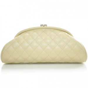 CHANEL Caviar Quilted Clutch