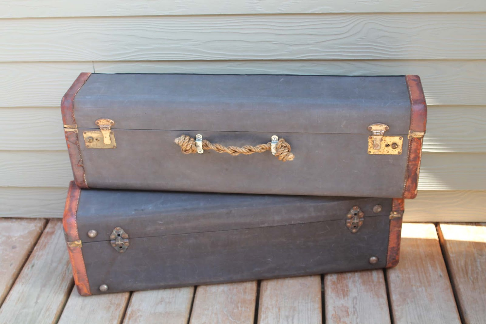 Vintage Suitcase Shelves For Sale Rust And Dust Salvage