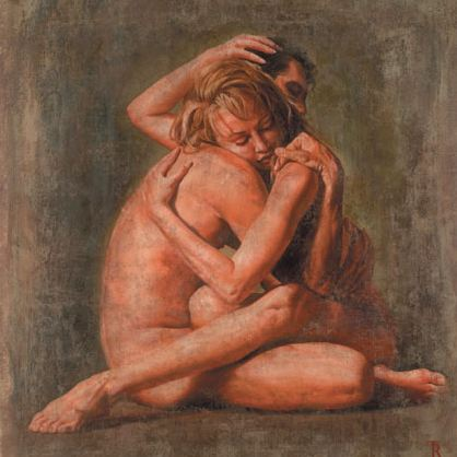 Tomasz Rut | Polish Figurative Artist | Lovers