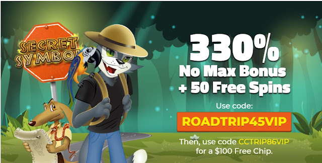 Cool Cat casino Road Trip Promo VIPs September 2018