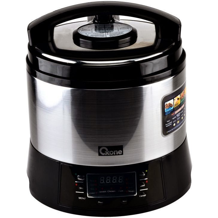 OX-282N Electric Pressure Cooker Oxone 6Lt - 1000W
