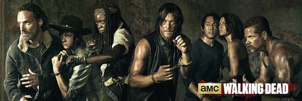 Walking Dead Personajes Poster