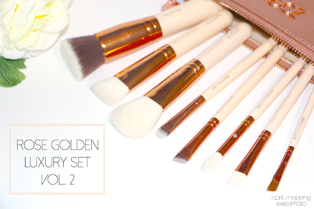 Rose Golden Luxury set vol. 2 zoeva aliexpress