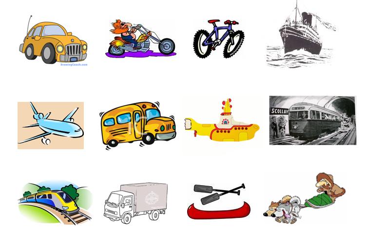 Number Names Worksheets paragraph on means of transport : Meu caderninho de aulas: Means of transportation
