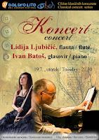 Lidija Ljubičić i Ivan Batoš, koncert, Bol slike otok Brač Online