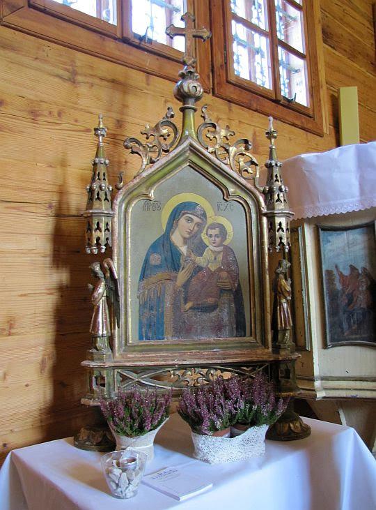Cerkiew Opieki Bogurodzicy w Chyrowej.