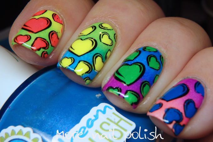 26 great nail art ideas love but no pink or red more nail polish aglayanails 26 great nail art ideas love but no prinsesfo Choice Image