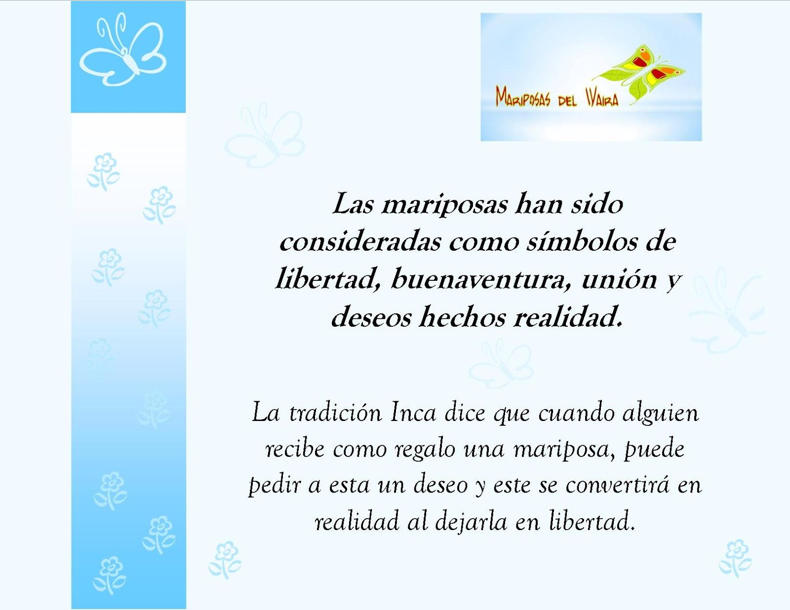 Mariposas Del Waira