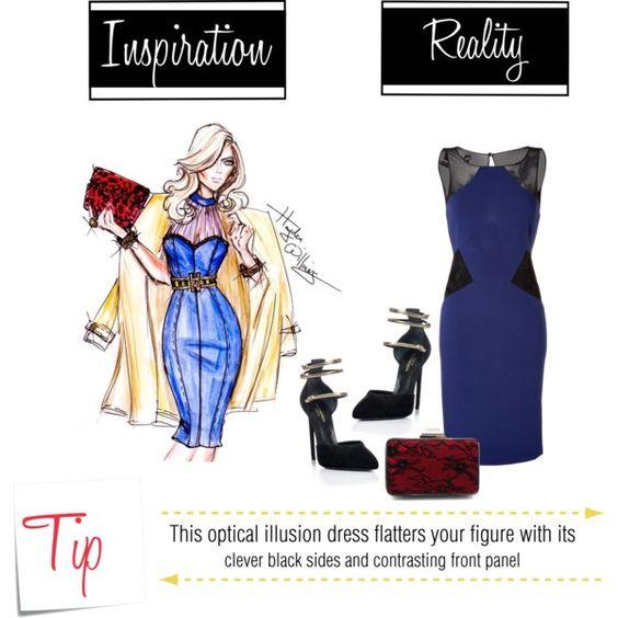 Flatter Your Figure: Spark A Fire In An Illusion Dress www.toyastales.blogspot.com #ToyasTales #figureflattering #illusiondress