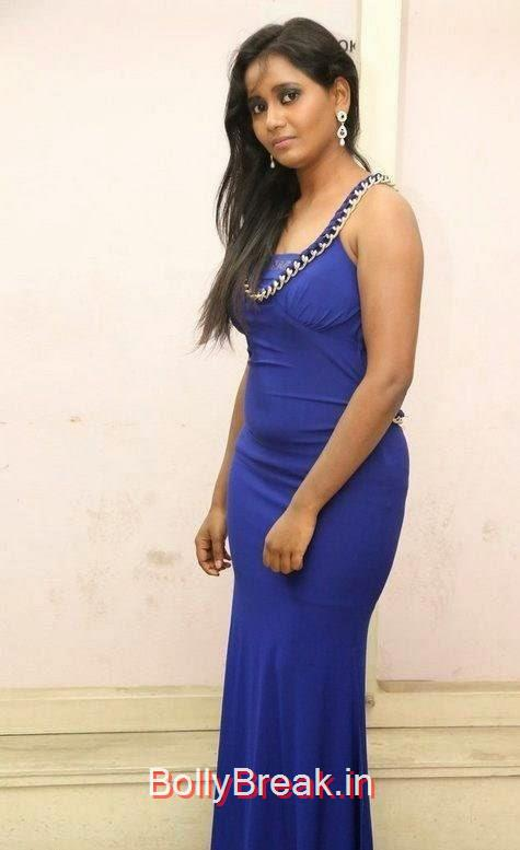 Anusha-Photo-Stills-59, Anusha Hot HD Images  in Blue Dress