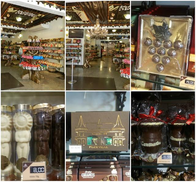 Atrações e lojas de chocolate em Gramado - Florybal