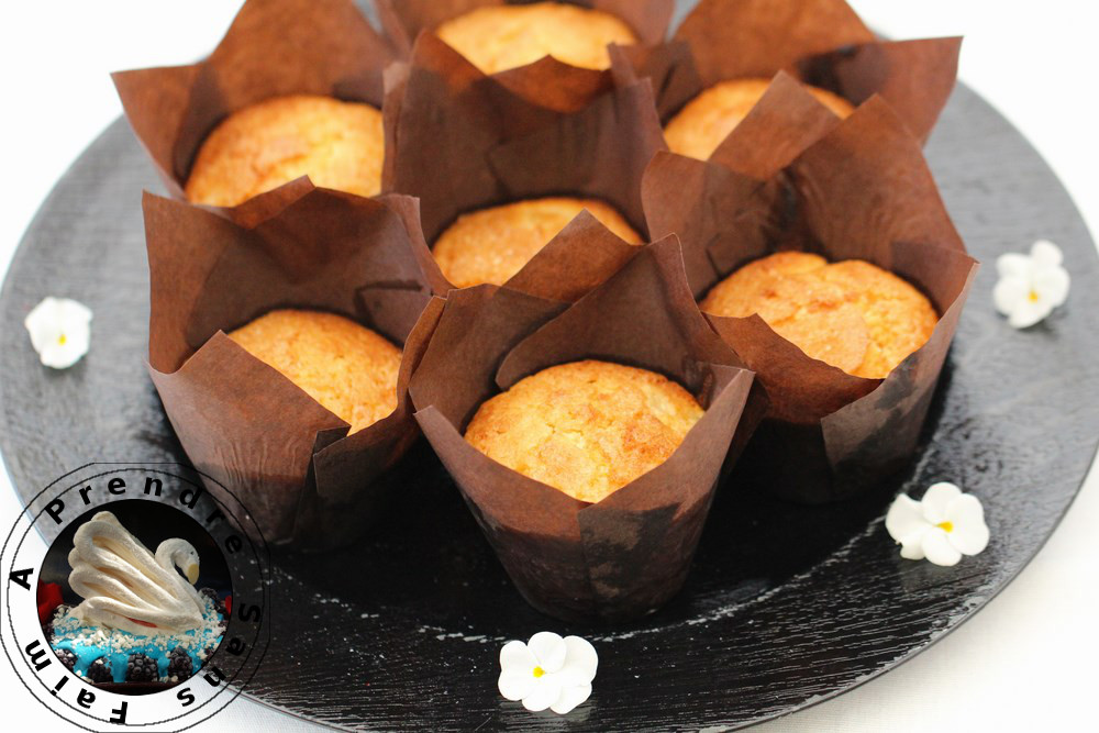 Muffins poire gingembre