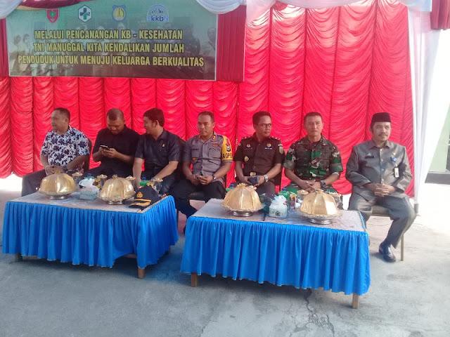 DP3AP2KB Kepulauan Selayar Kampanyekan KB-Kes di Makodim 1615