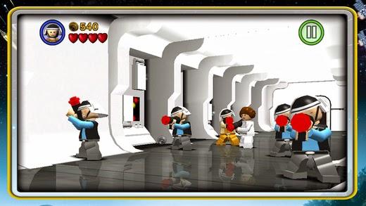 lego star wars the complete saga apk  serba droid