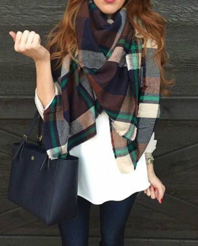 Favorite scarves of the season and outfit inspiration - Ioanna's Notebook