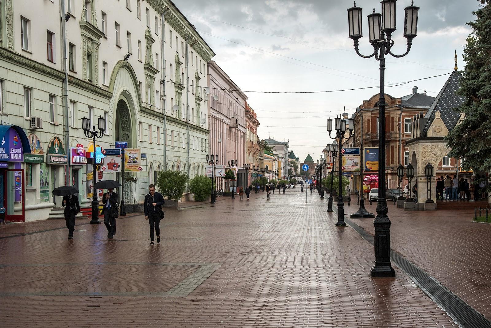 Большая Покровская улица. Фотография