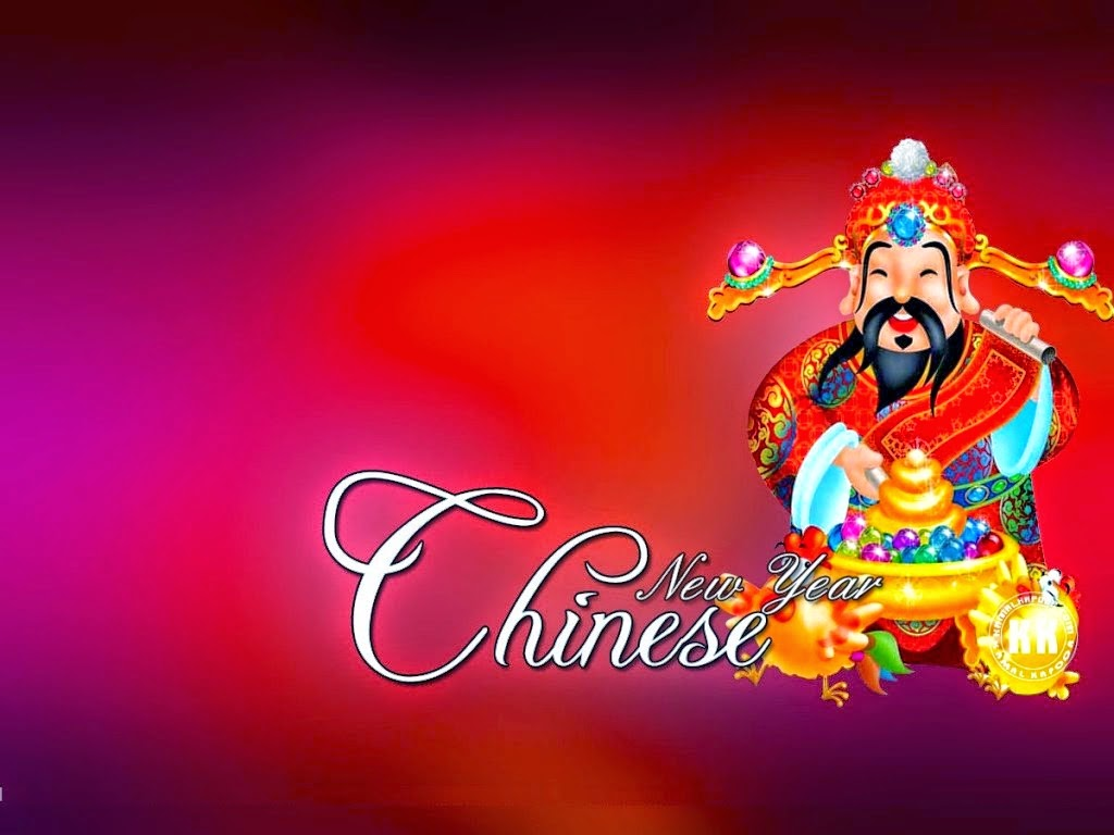 Chinese New Year 2019 Characters - Xin Nian Kuai Le in Chinese
